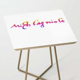 Michelangelo's pride signature Side Table