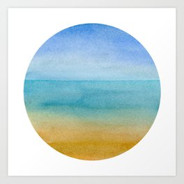 Beach - IV Art Print