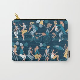 Sisterly riding the world together Carry-All Pouch