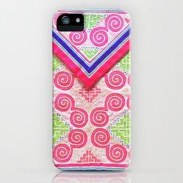 Lovely Hmong snail money bag iPhone Case