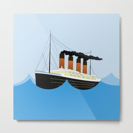 Big Ship Metal Print