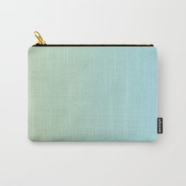 Turquoise Green Blue Gradient Carry-All Pouch