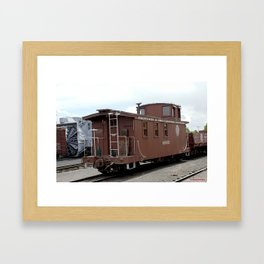 Relic of the Historic Denver & Rio Grande Western NG Railroad Framed Art Print