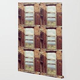 Mansion Window Wallpaper