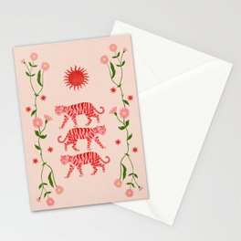Sun Tigers  Stationery Cards
