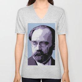 Émile Durkheim Unisex V-Neck