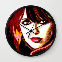 Grand Canyon beauty by Lika Ramati Wall Clock