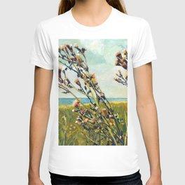 Thistles on the Beach T-shirt