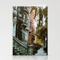 brooklyn Stationery Cards featuring brooklyn by Ahliche