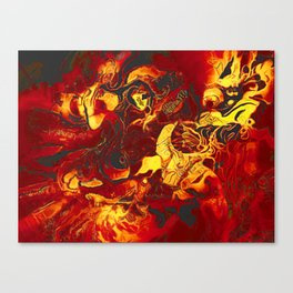 Battle of Wits Canvas Print