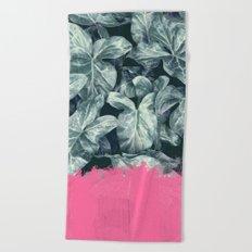 Pink Sorbet on Jungle Beach Towel