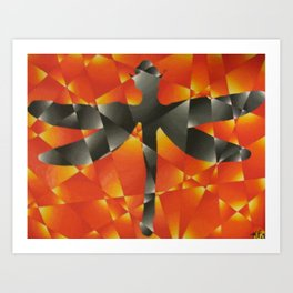 Coheed and Cambria Dragonfly Art Print
