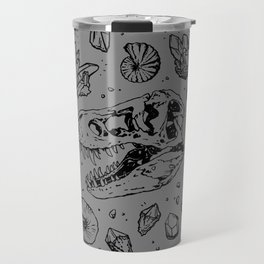Geo-rex Vortex | Black Travel Mug