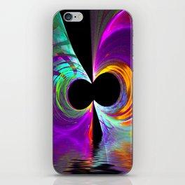 Rainbow Tube Abstract iPhone Skin