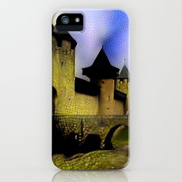 Walls of Carcassonne iPhone Case