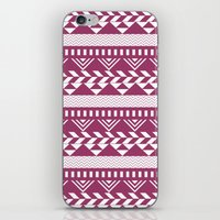 bands iPhone & iPod Skins featuring Tribal Bands by stephaniemichalko