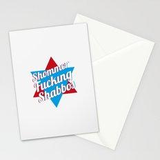 Shommer Fucking Shabbos Stationery Cards