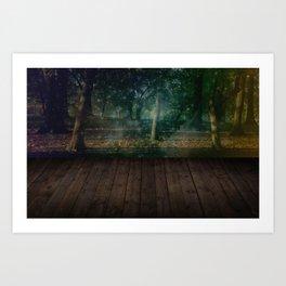 Mystic Garden Art Print