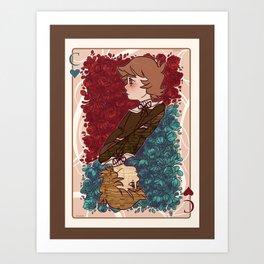 The Chihiro of Hearts Art Print