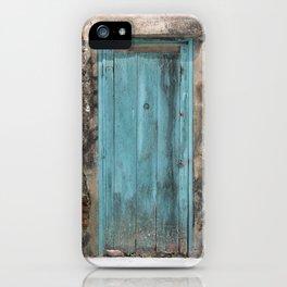 Positano Door iPhone Case