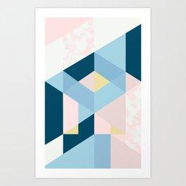I – A Art Print