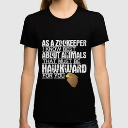 Zookeeper pun | Falcon zoologist embarrassing T-shirt
