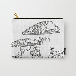 Brother Mushrooms Carry-All Pouch