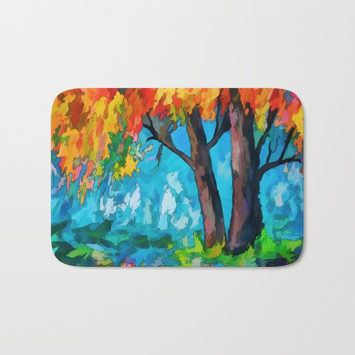 SUNRISE TREE Bath Mat