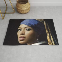 Bey with a Pearl Earring Rug
