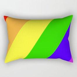 My Favorite Color Rectangular Pillow