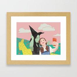 Dorothy Takes a Selfie Framed Art Print