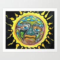 sublime Art Prints featuring sublime by haysor
