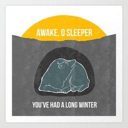 Awake O Sleeper Art Print