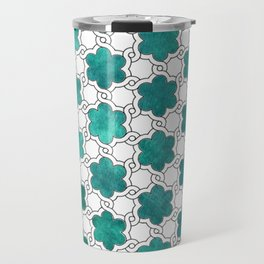 Flowerish Maze Travel Mug