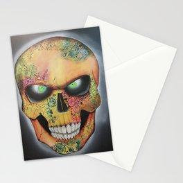 Mrs. skull Stationery Cards