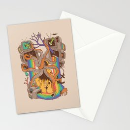 A Fragmented Reality Stationery Cards