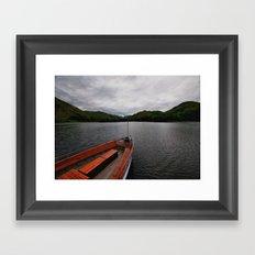 We Are Sailing Framed Art Print