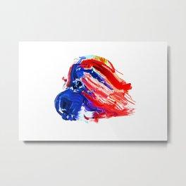 American Flag Study No. 8 Metal Print