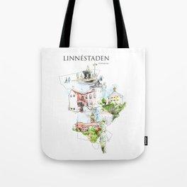 Linnéstaden, Göteborg, Sweden Tote Bag