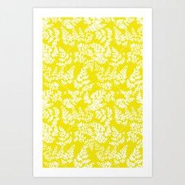 Spring Yellow Art Print