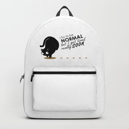 I try to be normal but... Backpack