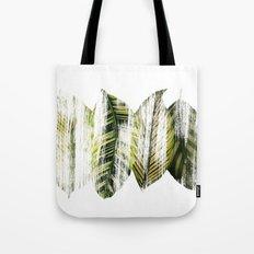 Brushed leaves Tote Bag