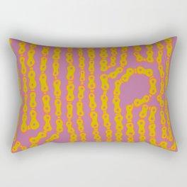 Bike Chain - Wild Electrix Rectangular Pillow
