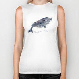 Gray Whale Biker Tank