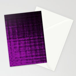 Purple abstract pattern Stationery Cards