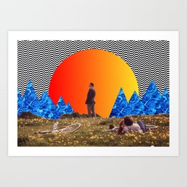 in the mood for an existential crisis Art Print