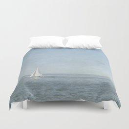 Sunday Sail  - Cape Cod Duvet Cover