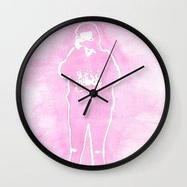 Harry Camera Pink Wall Clock