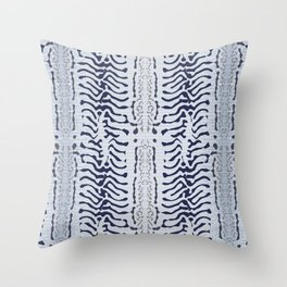 Mackerel skin Throw Pillow
