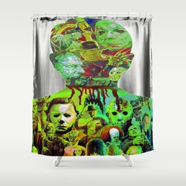 Have Alittle Horror In You? Shower Curtain
